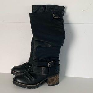 Carlos Santana Shoes| Claudia Wide Calf Boot